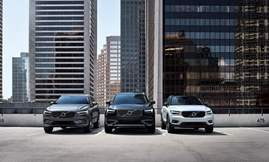 Volvo SUV line-up