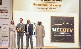 Azera Wins MECOTY 2018 Award