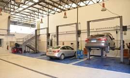 مراكز صيانة السيارات