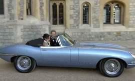 royal-couple-in-jaguar-e-type-zero-concept-2