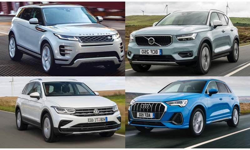 """أفضل 10 سيارات SUV مدمجة في 2020 .. """"إيفوك"""" في الصدارة.. و""""تيجوان"""" الأعلى مبيعًا في مجموعة فولكس فاجن"""