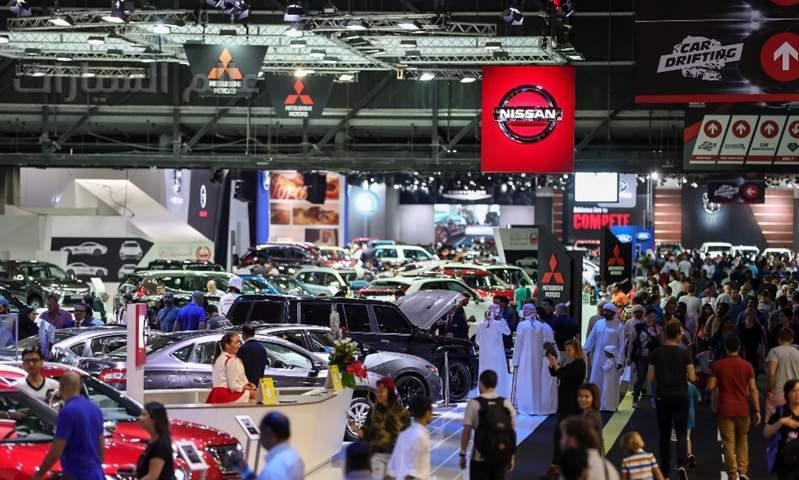 انطلاق الدورة الـ 15 من معرض دبي الدولي للسيارات غداً بمركز دبي