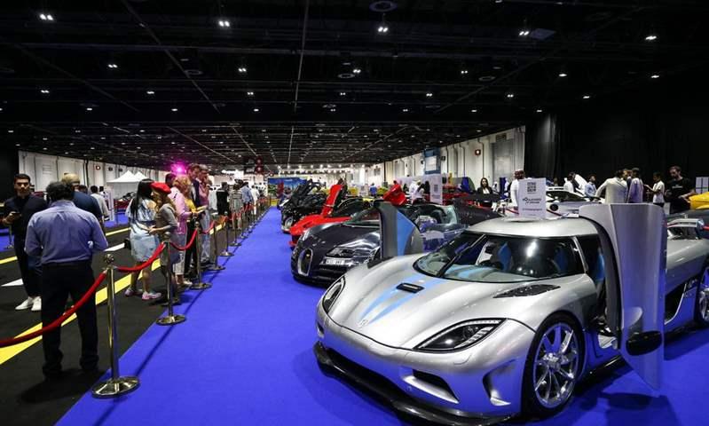 معرض دبي الدولي للسيارات يعود في نوفمبر بمركز دبي التجاري العالمي