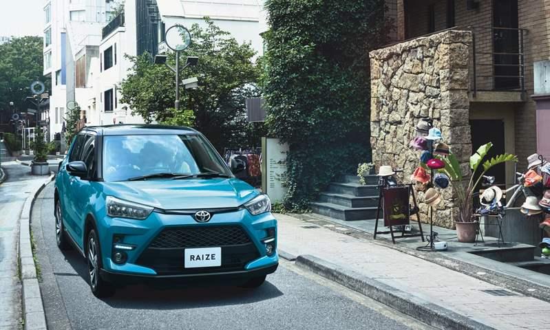 تويوتا تطلق ريز الـ SUV الصغيرة الجديدة كلياً