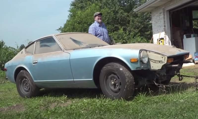 داستون 280 Z  تحصل على أول غسلة بعد 44 عامًا