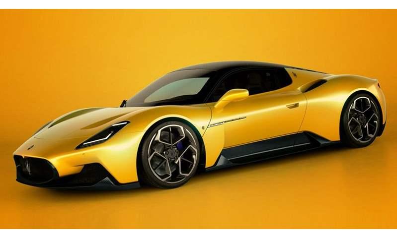 مازيراتي MC20 تفوز بجائزة أفضل سيارة رياضية في الصين لعام 2021