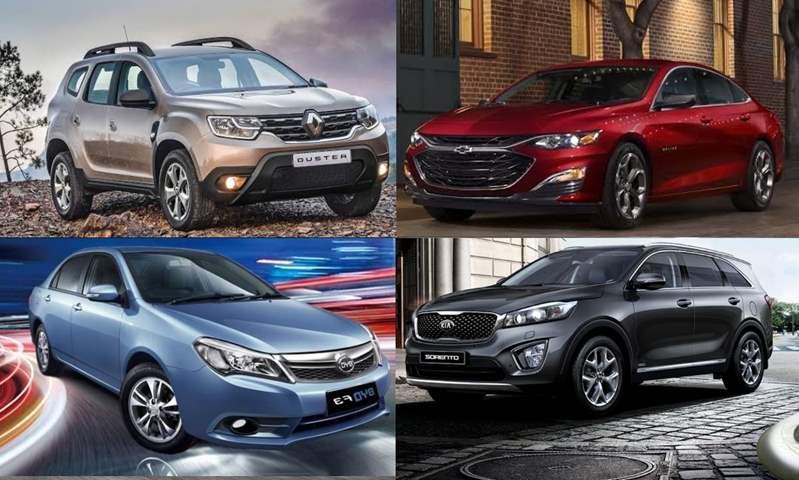 7 سيارات انخفضت أسعارها خلال شهر أكتوبر بالسوق المصري