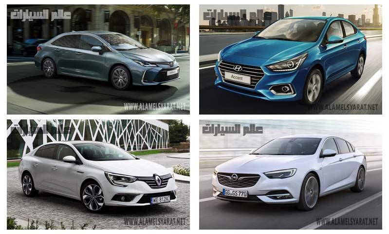 منافسة حامية بين السيارات العائلية بدءاً من 250 إلى 500 ألف جنيه في يناير