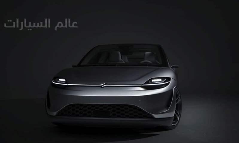 "بالصور.. سوني تطلق سيارة كهربائية باسم ""VISION-S prototype"""