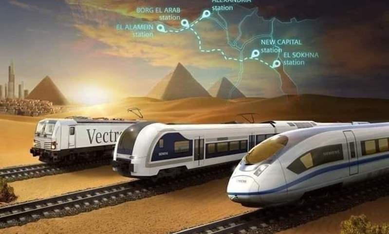 باجمالي 16 محطة ..  افتتاح أول مرحلتين من القطار الكهربائي في  أكتوبر المقبل