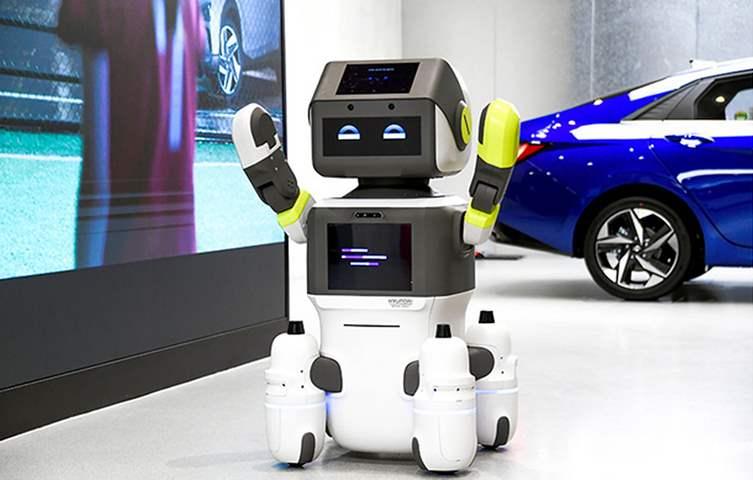 هيونداي تخترع روبوت شبه بشري لخدمة العملاء