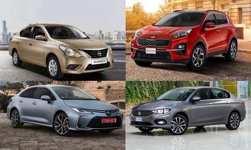بعد الزيادات الأخيرة.. ننشر أسعار أكثر 10 سيارات مبيعاً في السوق المصري