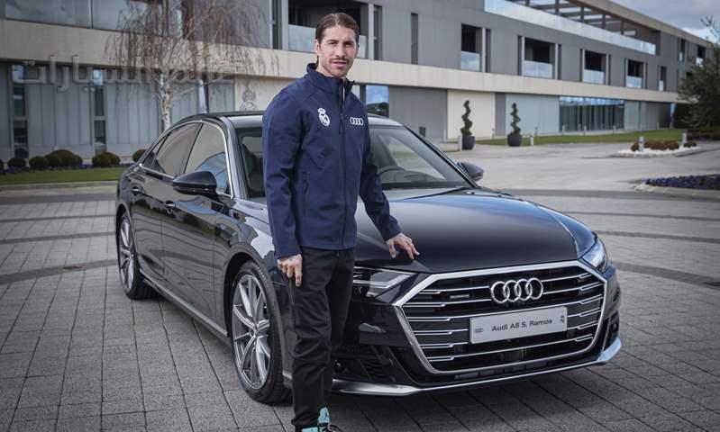 لاعبي ريال مدريد يتسلمون سياراتهم الجديدة من أودي