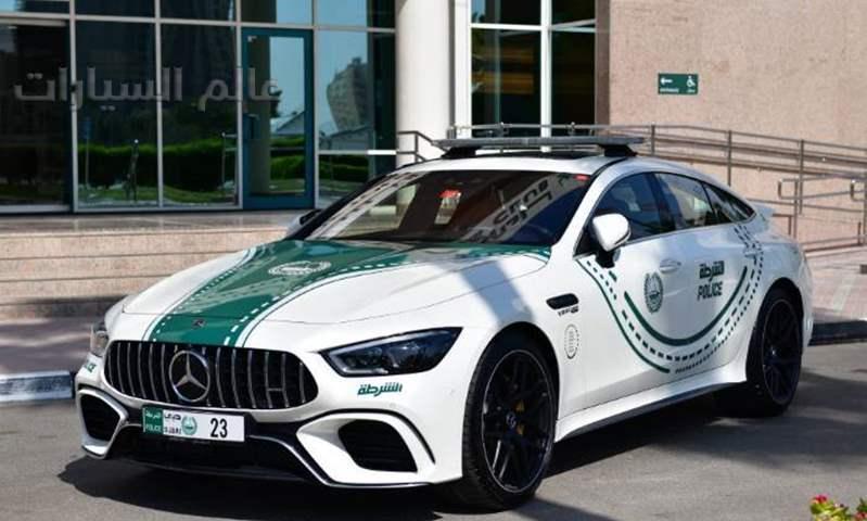 أحدث المنضمين لشرطة دبي .. مرسيدس-AMG GT 63 S