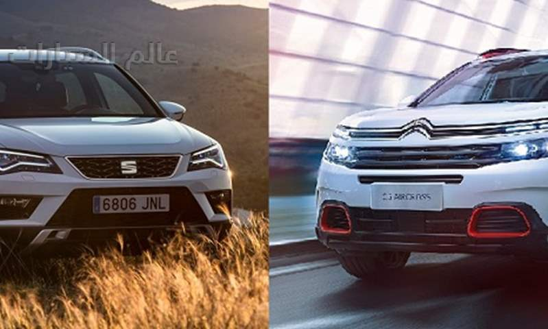 مقارنة: سيتروين C5 إير كروس أمام سيات أتيكا .. منافسة أوروبية راقية