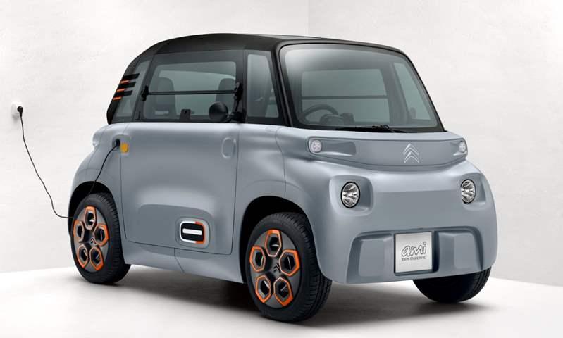 """بدون الحاجة لرخصة قيادة.. سيتروين """"آمي"""" الكهربائية تنطلق في أوروبا"""