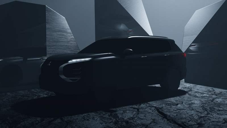 ميتسوبيشي تطرح صورًا تشويقية للسيارة أوتلاندر 2021