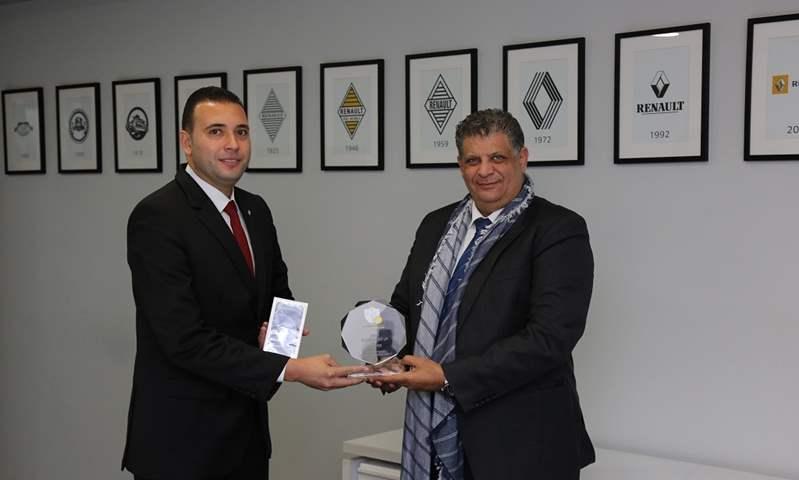 الوكيل الحصري لرينو في مصر يفوز بالمركز الثاني في تحدى جلاديتور 2020