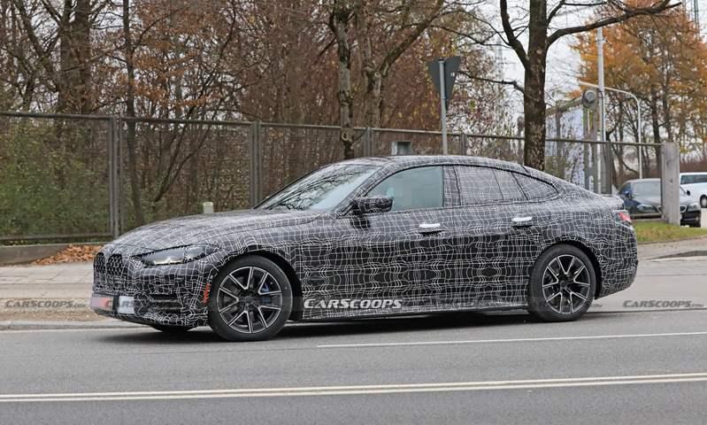 بعد إطلاق السيدان والسقف المتحرك.. صور تجسسية للإصدار جران كوبيه من BMW الفئة الرابعة 2021