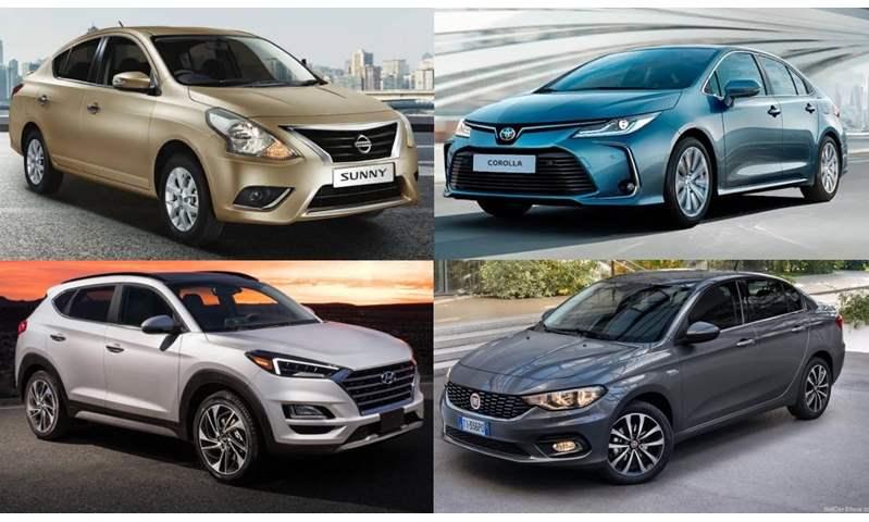 بينهم سيارتين SUV.. أسعار أكثر 10 سيارات مبيعاً في مصر خلال 10 أشهر من 2020