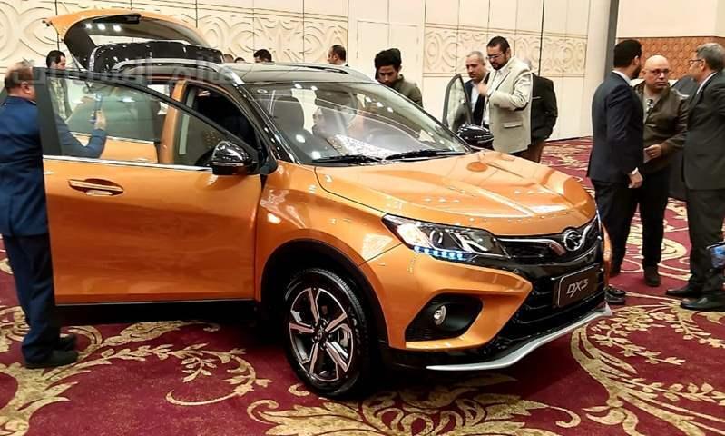 ساو إيست DX3 لأول مرة في سوق السيارات المصري