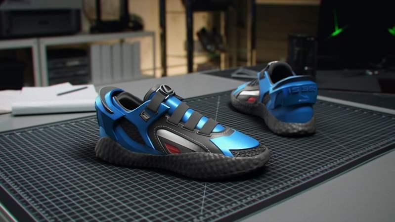 بحذاء رياضي فريد من نوعه.. لكزس تروج لسيارتها IS 350 F