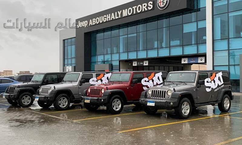 """""""أبو غالي موتورز"""" توفر سيارات 4×4  لإنقاذ المتضررين بسبب الأمطار"""