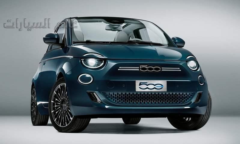 """ 500 E الجديدة""..  أول سيارة كهربائية بالكامل تحمل العلامة التجارية فيات"