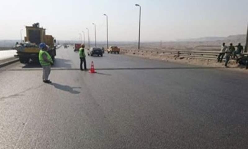 """تحويلات مرورية بمناسبة تطوير طريق """"القاهرة/الإسماعيلية"""" الصحراوى"""