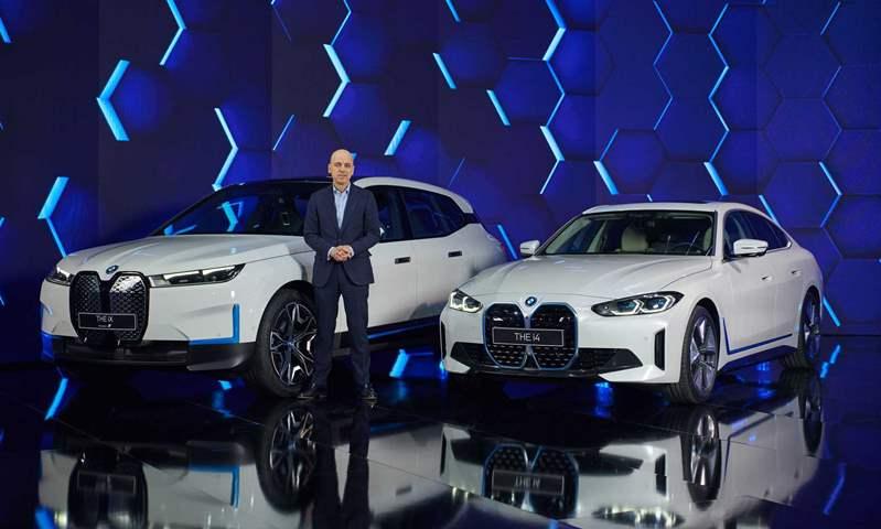 بمدى يصل إلى 590 كم.. الكشف عن BMW i4 الكهربائية الجديدة