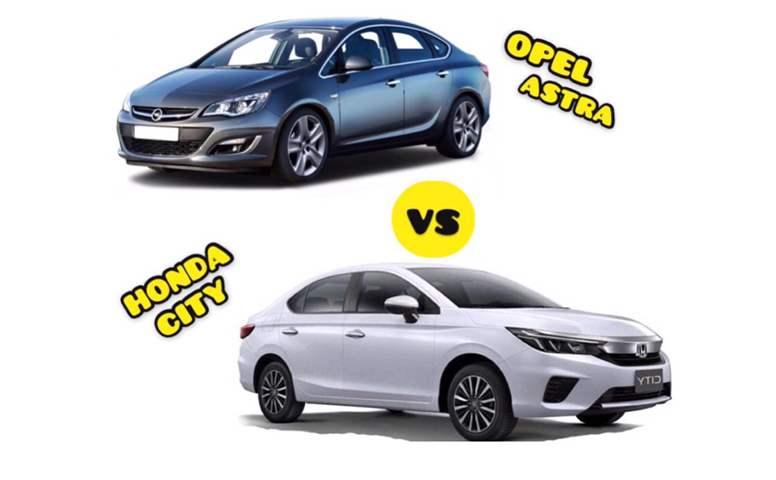 مقارنة بين هوندا سيتي الجديدة و أوبل أسترا.. أيهما ستختار؟