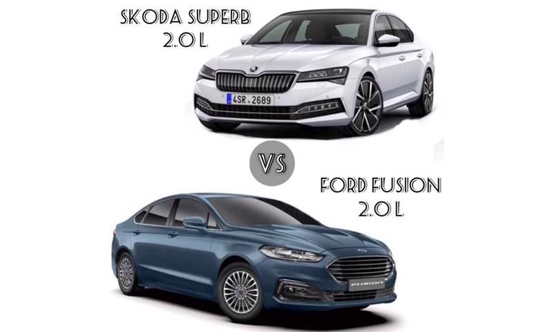 بمحركات 2.0 لتر عالية الأداء  .. مقارنة شاملة بين فورد فيوجن وسكودا سوبيرب