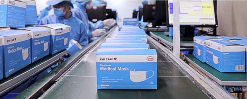 بصافي ربح 398 مليون دولار.. صناعة الكمامات تنقذ BYD من الخسائر في 2020