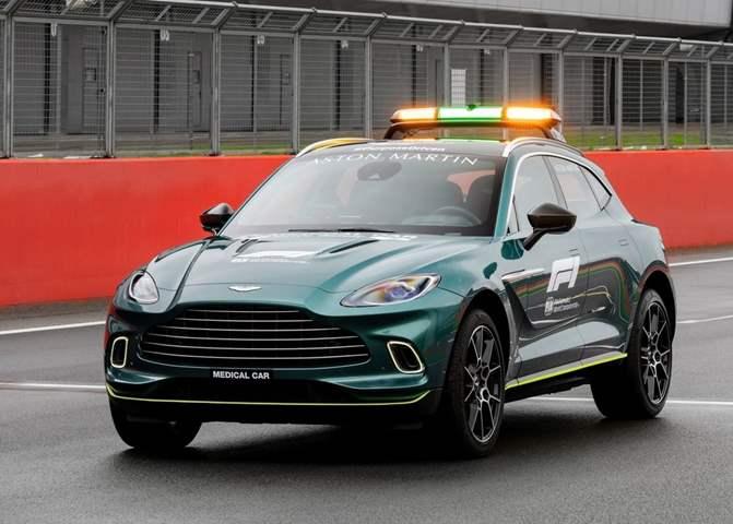 أستون مارتن فانتاج.. سيارة الأمان الجديدة للفورمولا 1