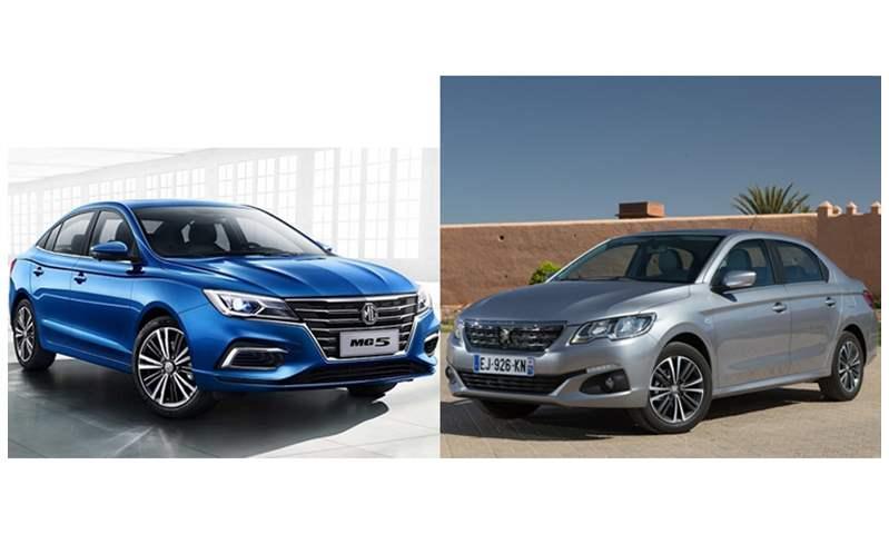 بسعر 232 ألف جنيه .. أيهما تفضل بيجو 301 أم MG5؟