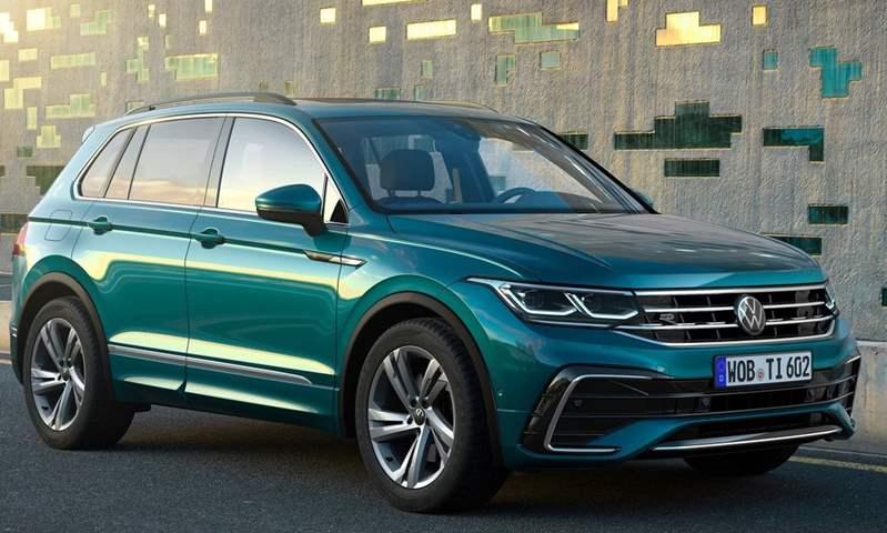 فولكس فاجن تيجوان تتصدر مبيعات الـ SUV   في ألمانيا خلال مارس 2021