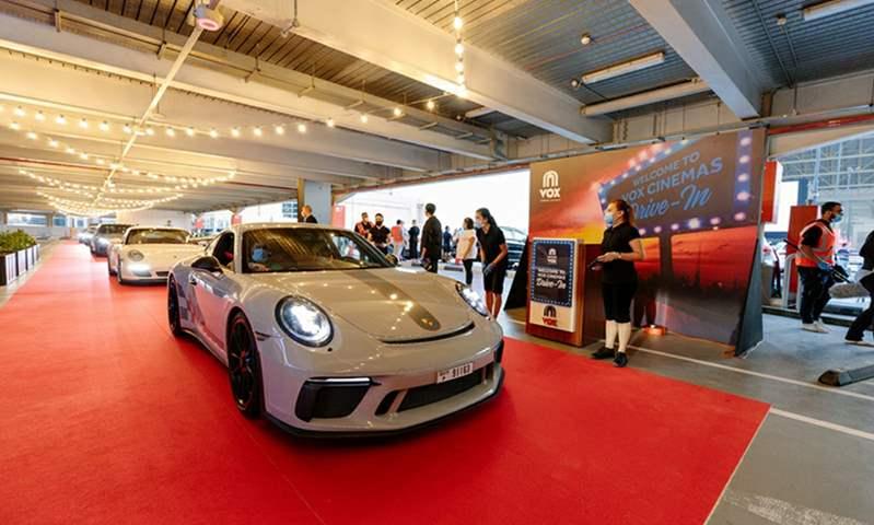 ماجد الفطيم تُطلق أول سينما للسيارات في الإمارات