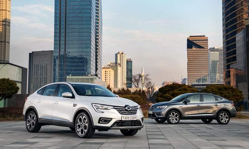 رينو أركانا باسم جديد في سوق السيارات الكوري مع وجود ترقيات
