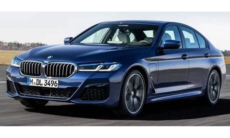 بالصور.. BMW تكشف رسمياً عن الفيس ليفت الجديد للفئة الخامسة موديل 2021