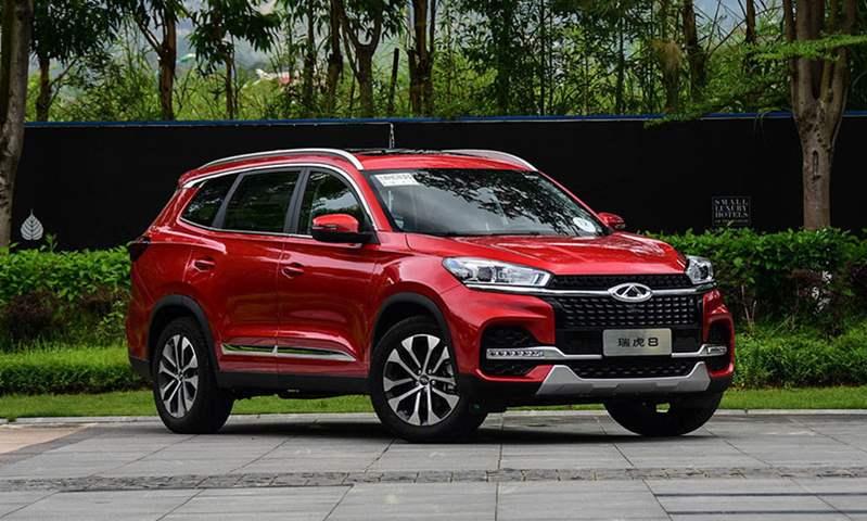 شيري تيجو 8 ضمن  أكثر ثلاثة سيارات إرضاءً للعملاء بفئة الـSUV في الصين