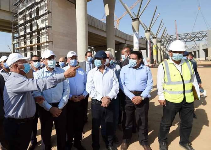 النقل:  افتتاح  المرحلتين الأولى والثانية للقطار الكهربائي في أكتوبر المقبل