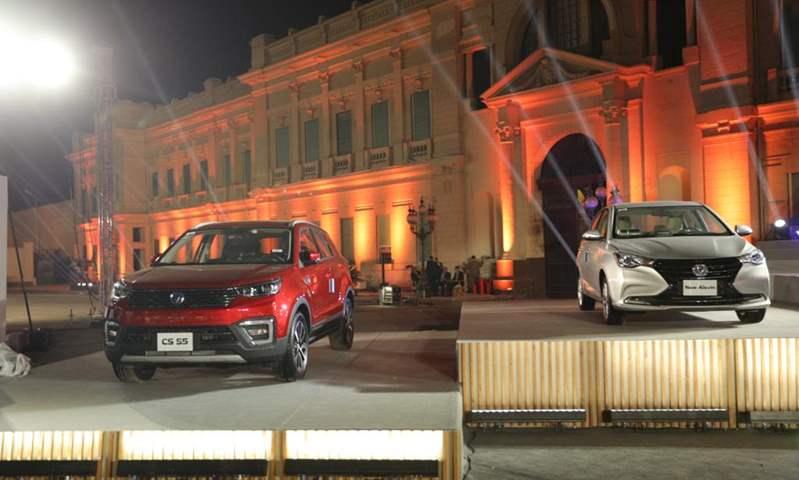 جي بي غبور أوتو تحتفل بإطلاق سيارات شانجان بالسوق المصري