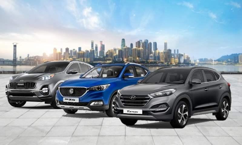 توسان وسبورتاج وإم جي ZS في صدارة مبيعات الـ SUV خلال أول خمسة أشهر من 2020