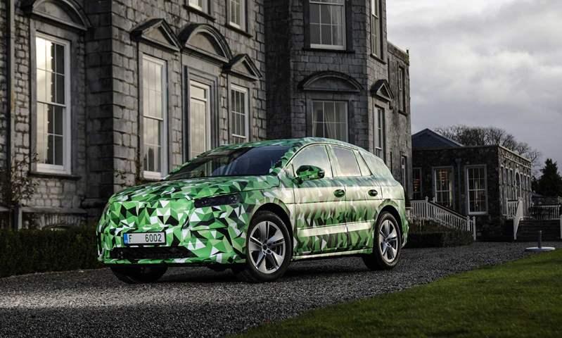 الكشف عن سكودا إنياق SUV الكهربائية الجديدة أول سبتمبر المقبل