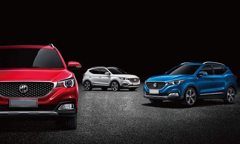 إم جي ZS تتصدر مبيعات SUV-B  خلال النصف الأول من عام 2020