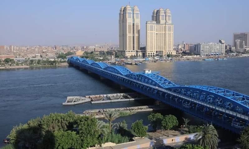 الانتهاء من مشروع رفع كفاءة وتجديد وتطوير كوبري إمبابة  الأثري على النيل