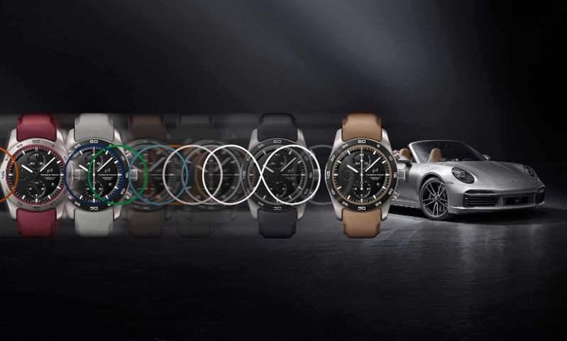 بورش تصمم ساعات يد فاخرة بألوان وخامات سياراتها المختلفة