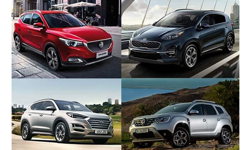 أسعار أكثر 10 سيارات SUV مبيعاً في مصر خلال 2020