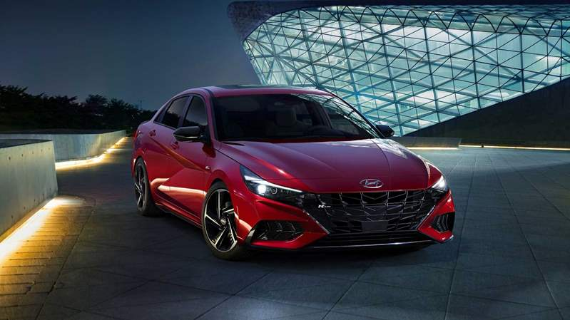 2021-hyundai-elantra-n-line-sedan-red-body