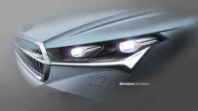 سكودا تكشف عن مزيد من تفاصيل سيارتها إينياك iV